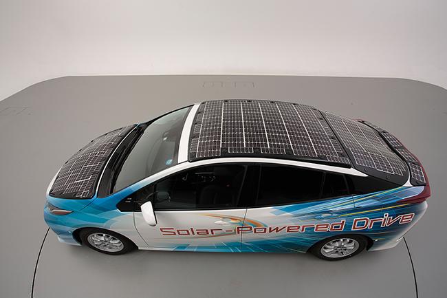 Nedo y Sharp han colaborado con Toyota en el desarrollo de este proyecto.
