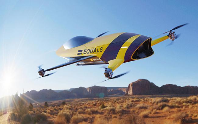 La competición, Airspeeder, contará con Mk IV de Alauda Racing, octocópteros eléctricos.
