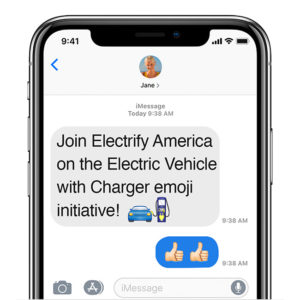 Campaña de Electrify America en change.org