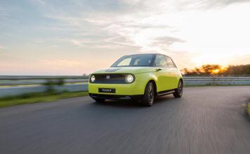 Honda e, el primer vehículo eléctrico de la marca japonesa.