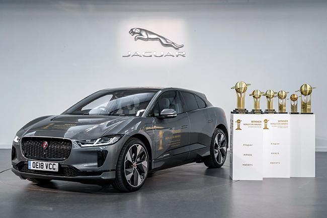 El Jaguar I-Pace consiguió los World Car Awards 2019 en tres categorías, entre ellas, Mejor Coche del Año.
