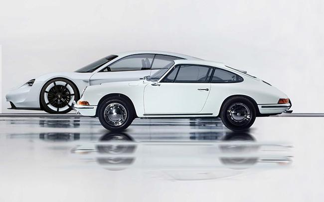 El Porsche TAYCAN lleva la esencia de la marca y la herencia genética del mítico 911.