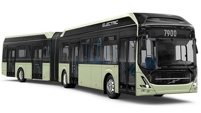 El nuevo autobús eléctrico tiene capacidad para 150 pasajeros. Se presentará en octubre.