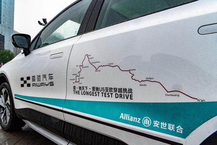 Un viaje épico, a través de Asia y Europa, siguiendo la Ruta de la Seda, para poner a prueba el Aiways U5.