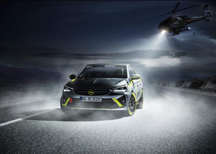 Opel Corsa-e Rally Concept. El coche que competirá en la ADAC Opel e-Rally.