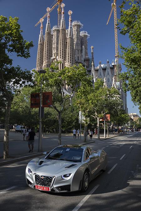Ha paseado en un tour exclusivo ante algunos de los monumentos más emblemáticos de la ciudad.