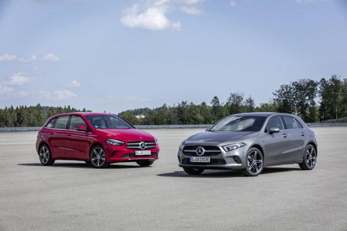Nuevos modelos Mercedes EQ Power, híbridos enchufables, Clase A y Clase B.
