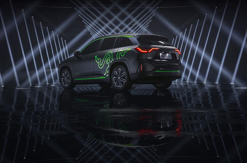 El NIO ES6 es un SUV eléctrico de reciente lanzamiento. Las primeras unidades salieron de la línea de producción en mayo de 2019.