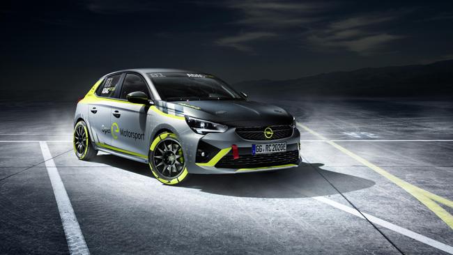 Opel es el primer fabricante que presenta un coche para rallies totalmente eléctrico.