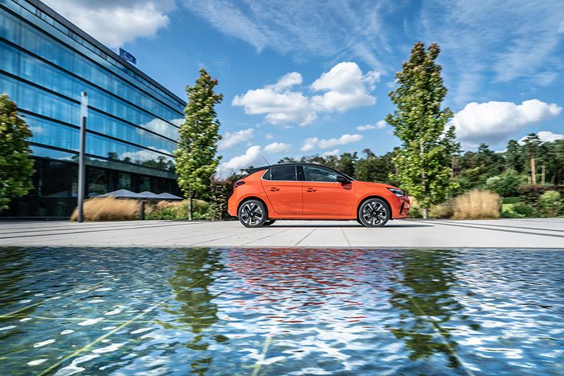 Opel Corsa-e, la versión eléctrica que llega en la sexta generación.