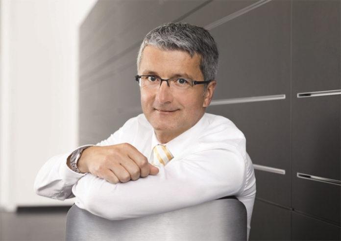 Rupert Stadler, ex CEO de Audi, fue cesado por su papel en el escándalo de emisiones.