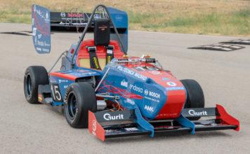 Vehículo Formula Student 2019 de UPM Racing.
