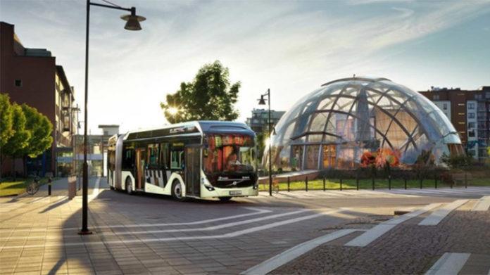 El nuevo articulado eléctrico de Volvo Buses ha estado en pruebas en Gotemburgo desde junio de 2018.