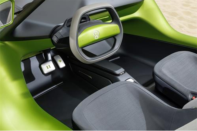 El interior es impermeable, limpio de diseño y práctico.