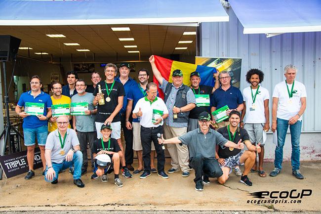 Ganadores del Eco Grand Prix 2018.