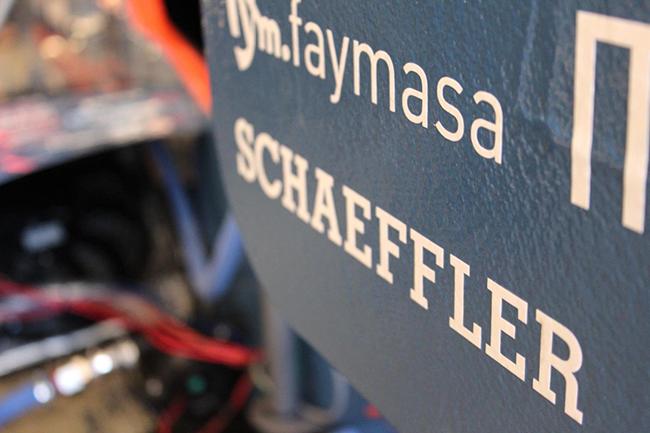Schaeffler es uno de los patrocinadores. El grupo se caracteriza por el desarrollo de tecnología innovadora en componentes y sistemas para motores.