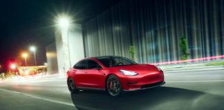 Novitec oferta en su catálogo un kit para el Tesla Model 3.