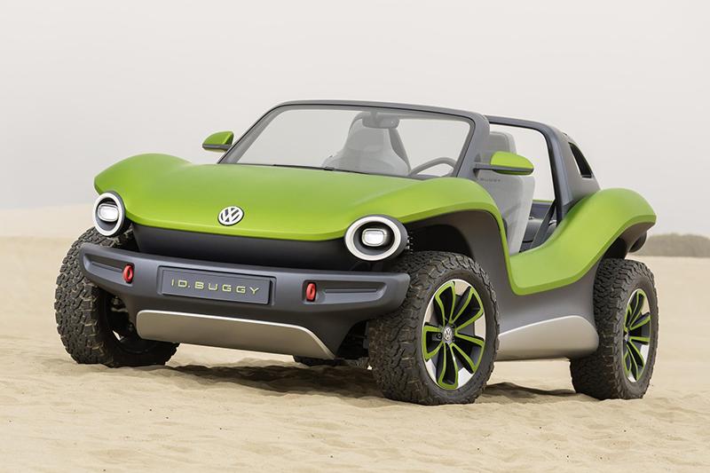 Simpático, divertido, con buenas aptitudes off road, muy versátil... Así es el VW ID.Buggy