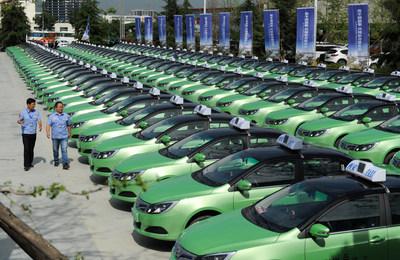 taxis eléctricos