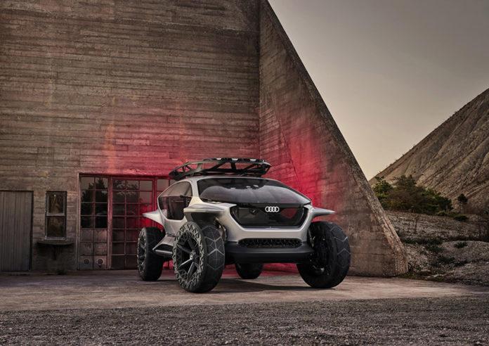 Audi AI:TRAIL, un vehículo diferente, para un uso off road sostenible.