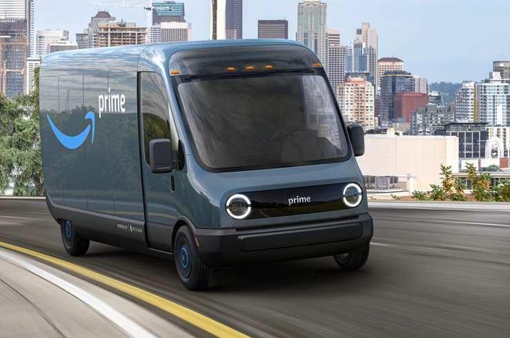 Amazon compra 100.000 vehículos eléctricos a Rivian