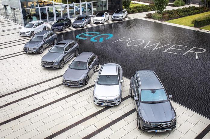 Merceds-Benz incorpora los nuevo Clase A, B y GLE a su gama de híbridos enchufables.