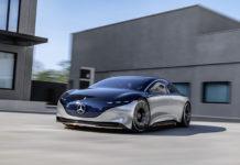 El diseño del VISION EQS es un punto importante en la estrategia de Mercedes con respecto a las futuras berlinas eléctricas.