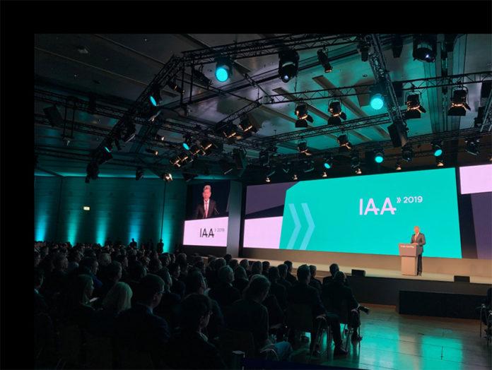 Salón de Frankfurt 2019.