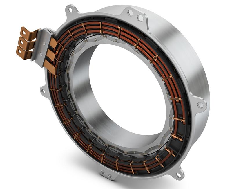 Schaeffler presenta en Frankfurt su nueva gama de motores eléctricos.