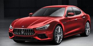 Maserati Ghibli, el primero de los vehículos de la marca que incorporará un sistema electrificado.