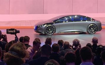 Mercedes Vision EQS. IAA, Frankfurt 2019.