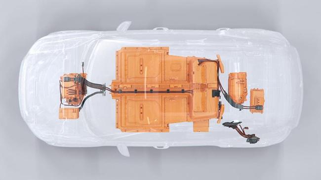 La ausencia del motor de combustión ha hecho que los ingenieros de Volvo desarrollaran una nueva estructura para hacer del XC40 uno de los coches más seguros en carretera.
