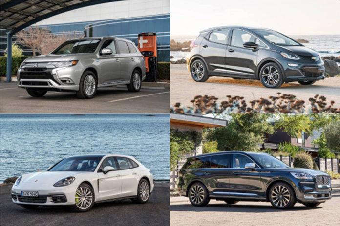 La lista de los 12 mejores eléctricos de Autotrader.