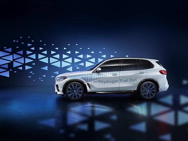 Tecnología de hidrógeno en la visión de futuro de BMW.