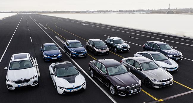 Modelos de BMW presentes en Frankfurt 2019.