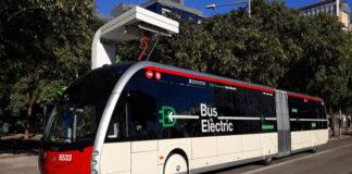 autobuses eléctricos en barcelona