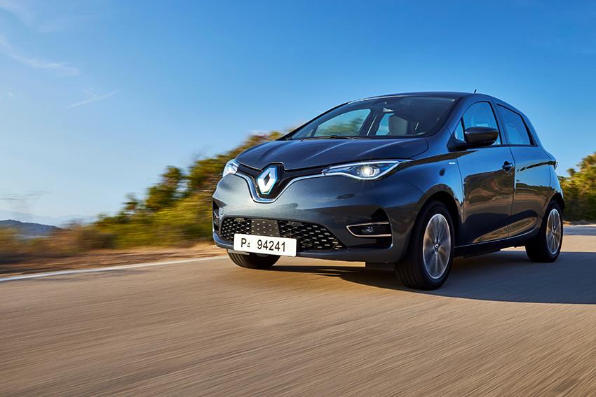 Tercera generación del Renault Zoe.