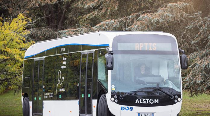 El autobús eléctrico Aptis es el vehículo oficial del V Congreso Europeo del Vehículo Eléctrico.