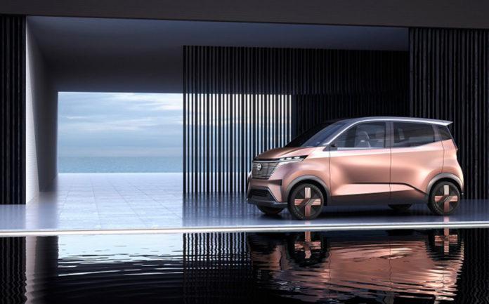 Nissan IMk, el concept urbano que Nissan presentará en el Salón de Tokio, a final de mes.