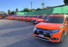 14 unidades del Mitsubishi Outlander PHEV han sido asignadas a los parques de bomberos de Valencia.