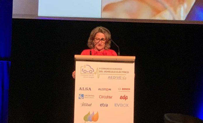 Teresa Ribera, ministra de Transición Ecológica en CEVE2019
