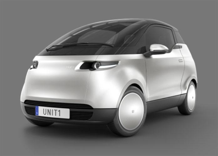 Uniti One. El eléctrico compacto urbano de la startup sueca.