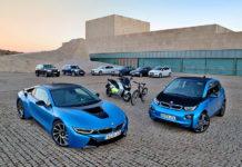 Gama electrificada del Grupo BMW.