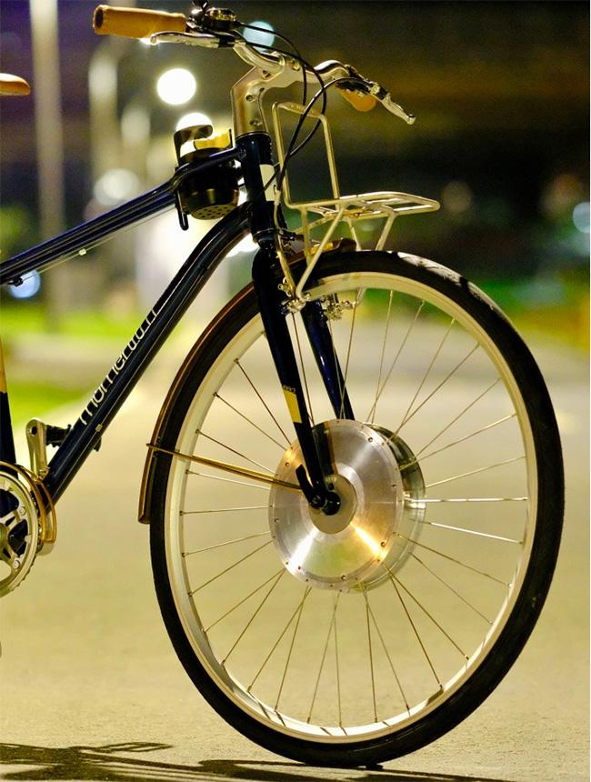 E-rim, la solución asequible para transformar cualquier bici en eléctrica.