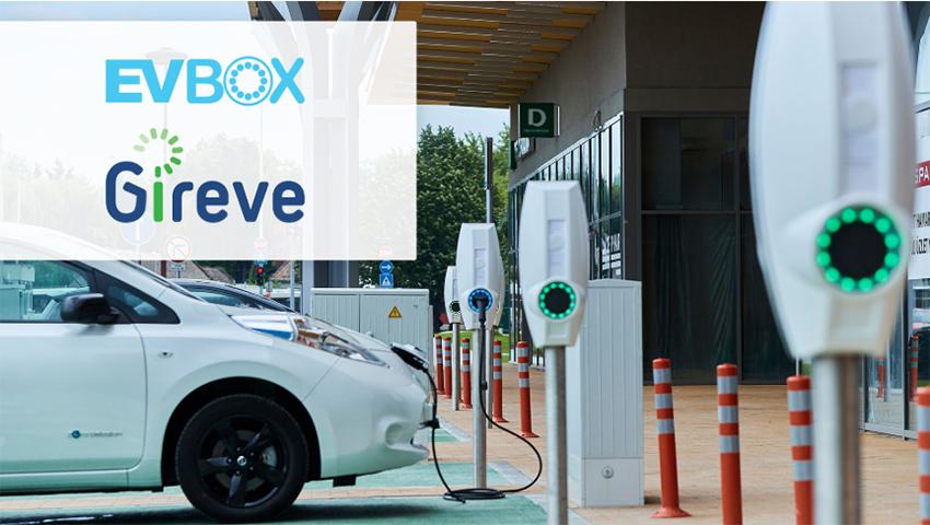 EVBox se une a GIREVE, la plataforma de interoperabilidad europea.
