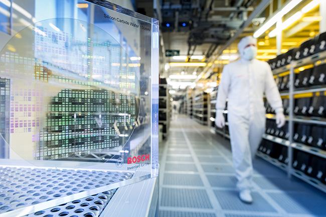 Fábrica de microchips de carburo de silicio (SiC), de Bosch.