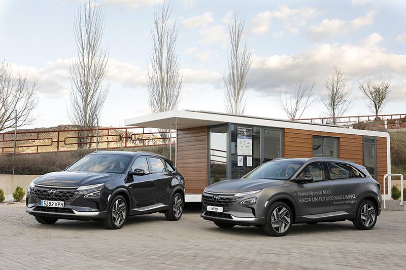 Los vehículos de hidrógeno ofrecen unas prestaciones muy similares a las de cualquier vehículo de combustible tradicional.