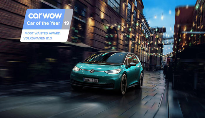 Volkswagen ID.3, el coche más buscado en carwow.