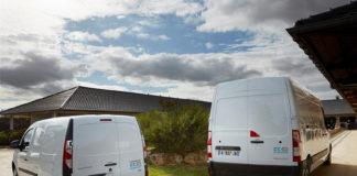 Renault KANGOO ZE Y MASTER ZE de hidrógeno.