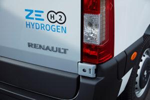 Vehículos Comerciales Ligeros de hidrógeno Renault.